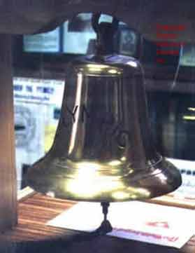 Bridge bell from RMS Olympic