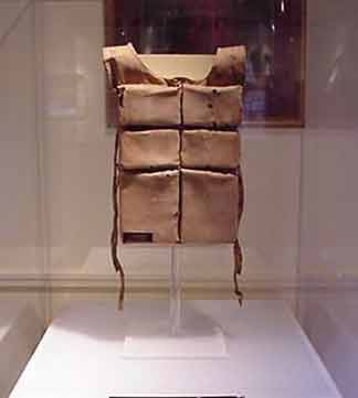 Mrs. Astor's lifejacket from the Titanic