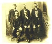 Six of the Titanic crew photograph donated by Frederick Fleet