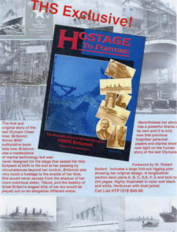 Simon Mills' authoritative book tells how Britannic was a masterpiece of marine technology but was never designed for the stage that sealed her fate.